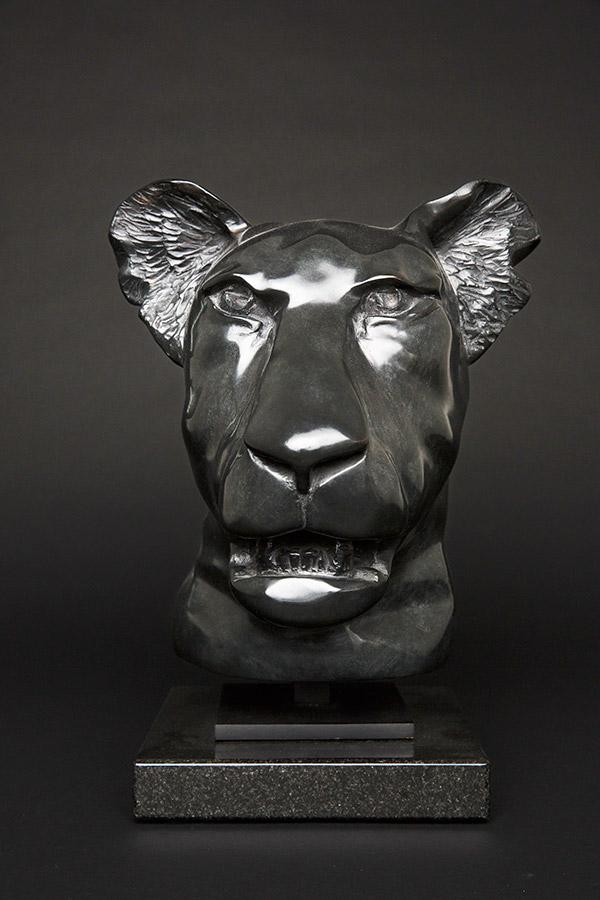 Tête lionceau version lisse 1