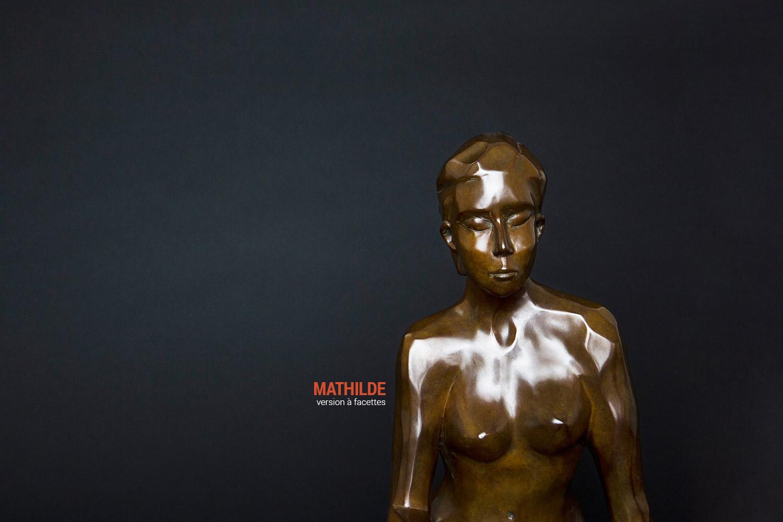 Mathilde buste version à facettes
