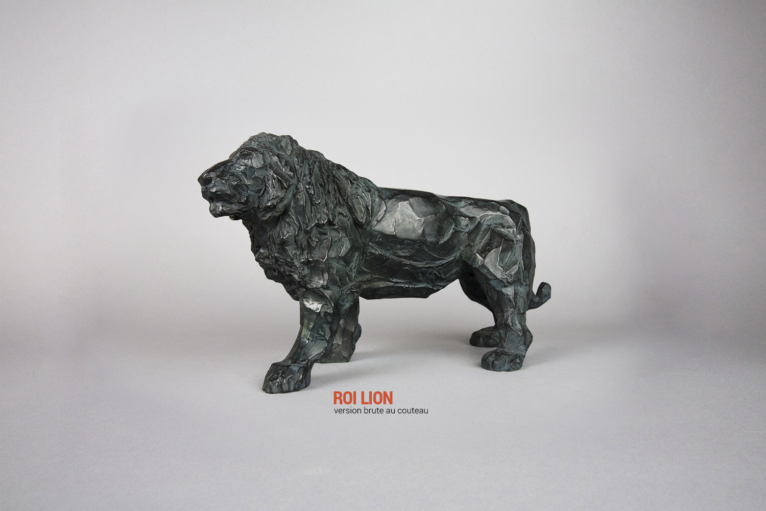 Roi Lion Version brute au couteau