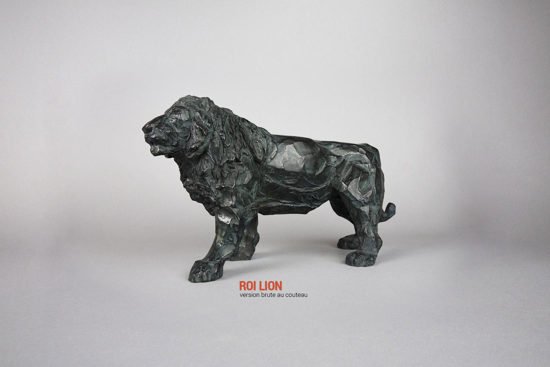 Roi Lion Version brute au couteau